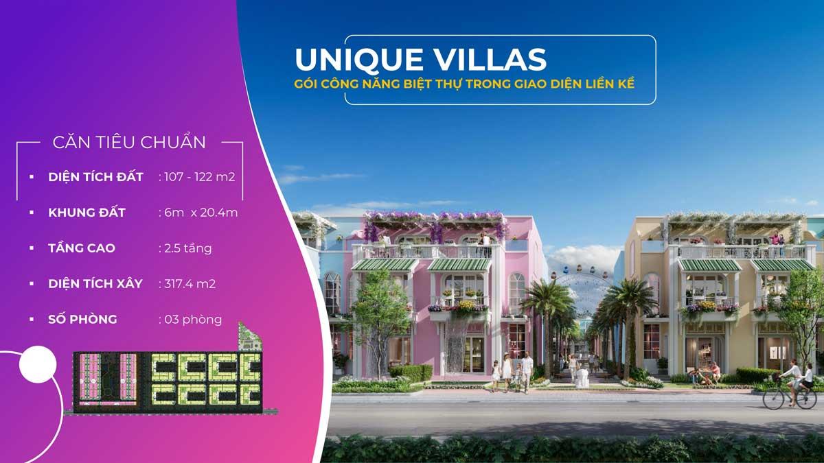 Nha pho lien ke Unique Villas ParaSol Cam Ranh - Nhà-phố-liền-kề-Unique-Villas-ParaSol-Cam-Ranh