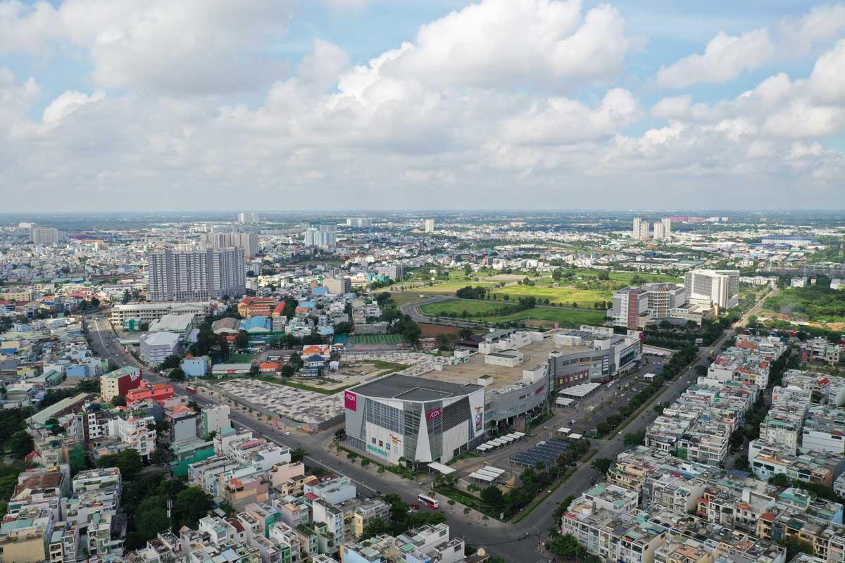 Tien do thi cong Du an Moonlight Centre Point Binh Tan thang 8 nam 2021 - Moonlight Centre Point