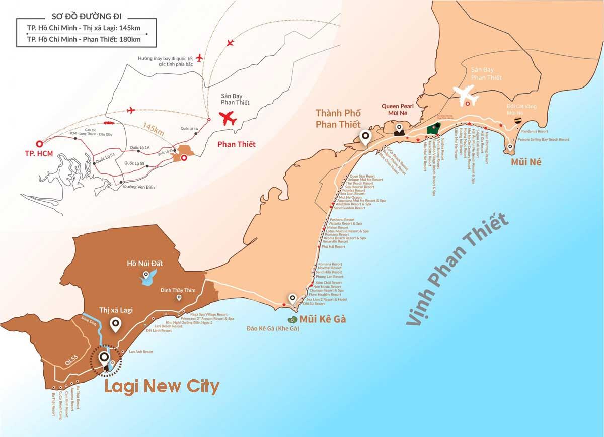 Vi tri lien ket vung Du an Khu do thi Lagi New City Binh Thuan - Vị-trí-liên-kết-vùng-Dự-án-Khu-đô-thị-Lagi-New-City-Bình-Thuận