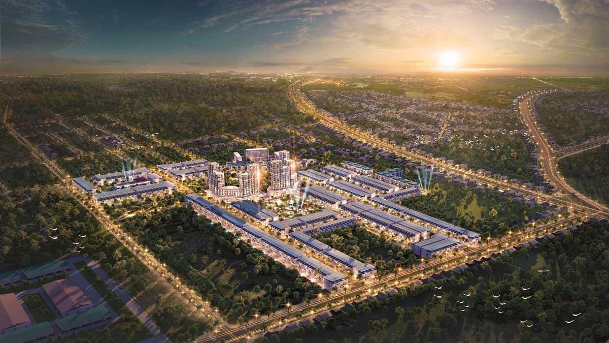 Toàn cảnh Dự án Khu đô thị TNR Grand Long Khánh Đồng Nai