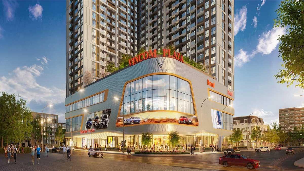 Tien ich Vincom Plaza tai Vinhomes Sky Park Bac Giang - Vinhomes Sky Park
