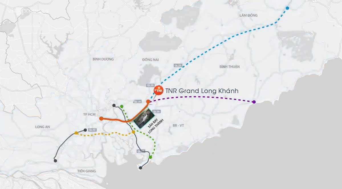 Vi tri du an TNR Grand Long Khanh - Vị-trí-dự-án-TNR-Grand-Long-Khánh